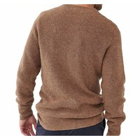 Shaker Sweater Brown