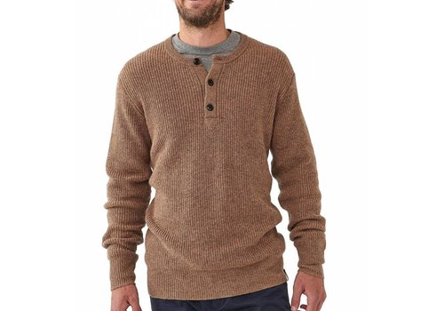 The Normal Brand Shaker Sweater Brown