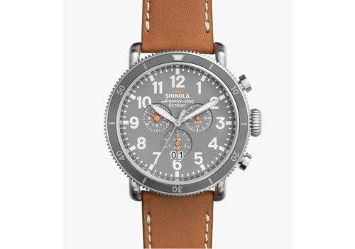 Runwell Sport Watch 48mm, Tan Strap