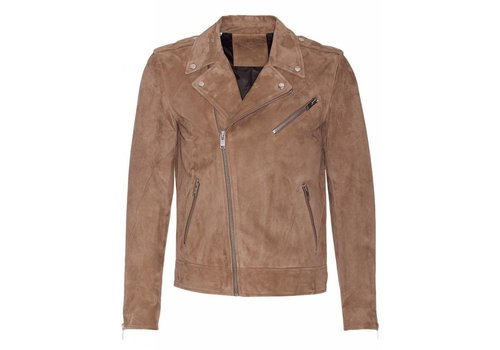 Selected/Homme Shnlean Suede Biker Jacket