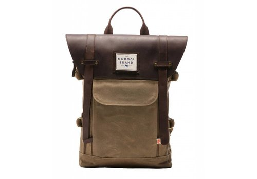 The Normal Brand The Top Side Leather Backpack
