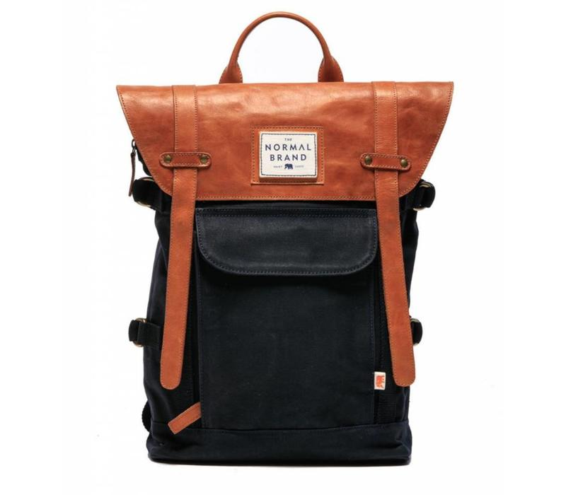 The Top Side Leather Backpack
