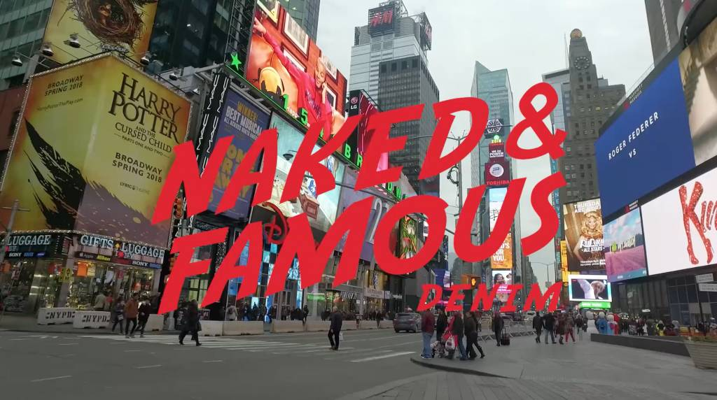 Meet Naked and Famous Denim