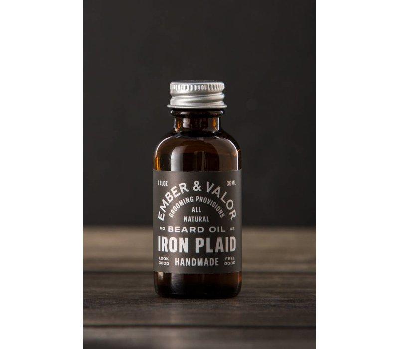 Iron Plaid Beard Oil
