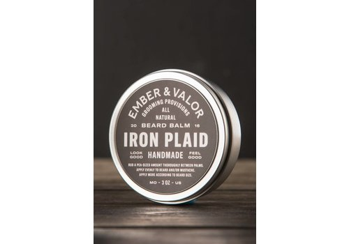 Ember & Valor Iron Plaid Beard Balm