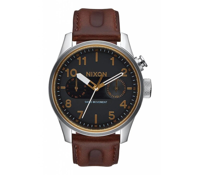 Safari Deluxe Leather Black/Brown