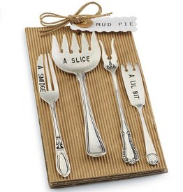 Mudpie Set of 4 Cocktail Forks