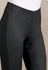 Mudpie Cooper Suede Leggings in Black