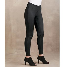 Mudpie Cooper Suede Leggings in Black