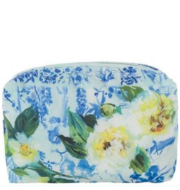 Designers Guild Large Majolica Cornflower Blue Washbag