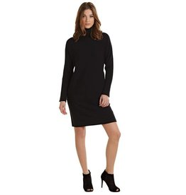 Mudpie Marissa Turtleneck Sweater Dress in Black