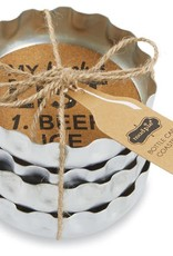 Mudpie Beer Bottle Coaster Set
