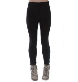 V Fish Fleece Lined Leggings OS
