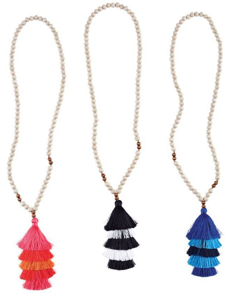 tiered with multicolor silver necklace anne cluster koplik drops