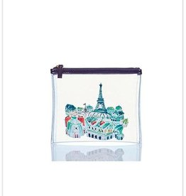 Toss Designs Paris Clear Flat Zip