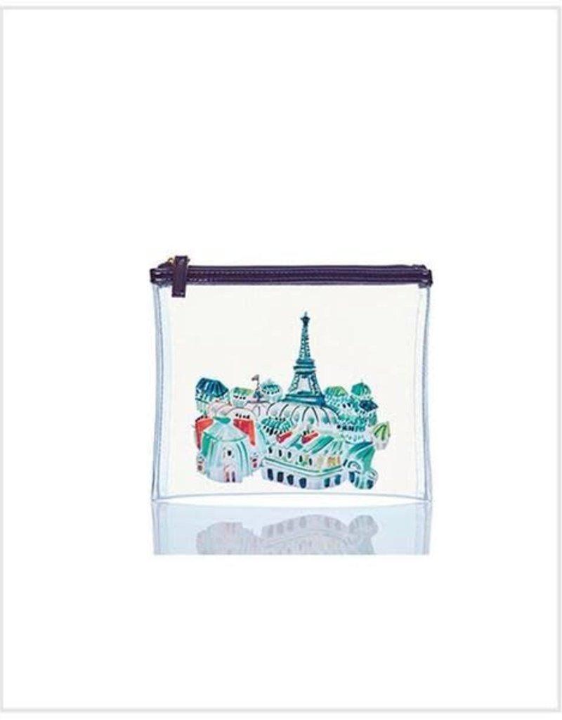 Toss Designs Paris Clear Flat Zip
