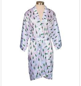 Toss Designs Champagne Bottle Kimono Robe