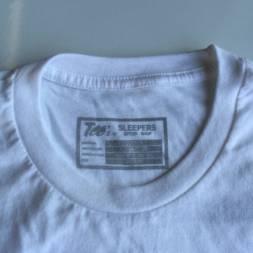 Sleepers Speed Shop T- Shirt - White
