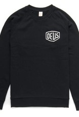 Deus Shield Crew Sweatshirt Black