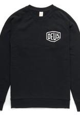 Deus Shield Crew Sweatshirt Black