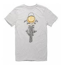 Deus Frontal Matchless Tee Grey Marle