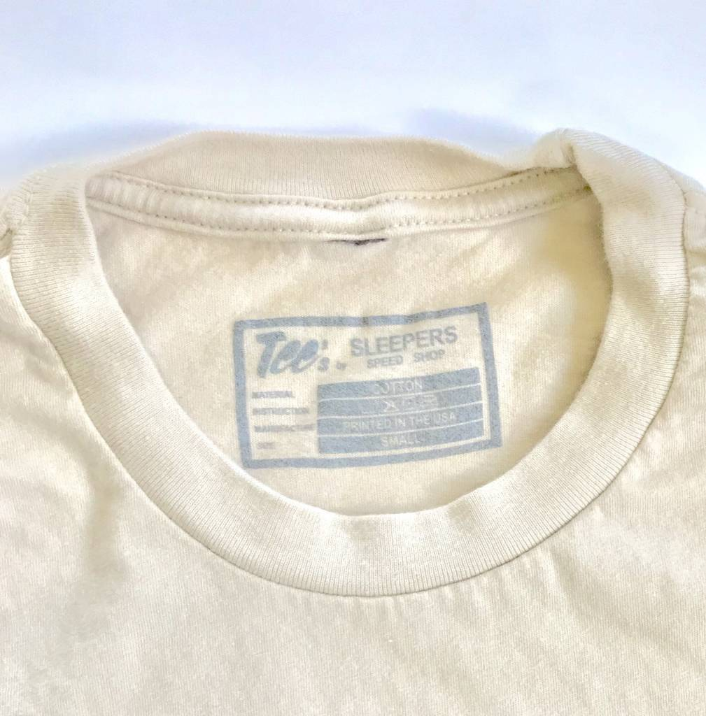 Sleepers Speed Shop T- Shirt - Ivory