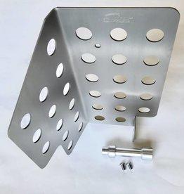 Sleepers 964/993 Titanium Heater Fan Delete Plate