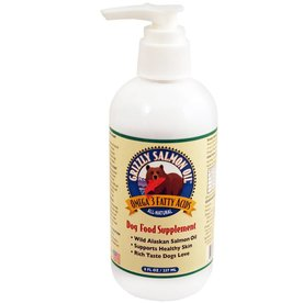 GRIZZLY PET PRODUCTS, LLC GRIZZLY Salmon Oil Dog 8oz