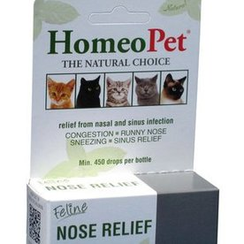HOMEOPET SOLUTIONS HOMEOPET Nose Relief 15ml ~ Product for Cats