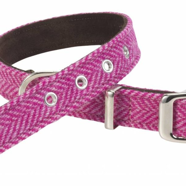 Lovemydog Pixley Harris Tweed Collars