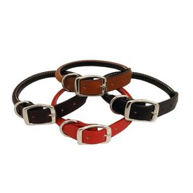 Auburn Leather Crafters Auburn Leather Rolled Collar~More Choices Available