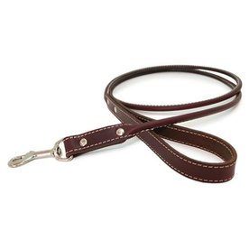 Auburn Leather Crafters Auburn Rolled Leather Leash~More Colors Available