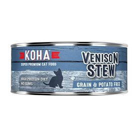 Koha Koha Venison Stew Cat 5.5oz.