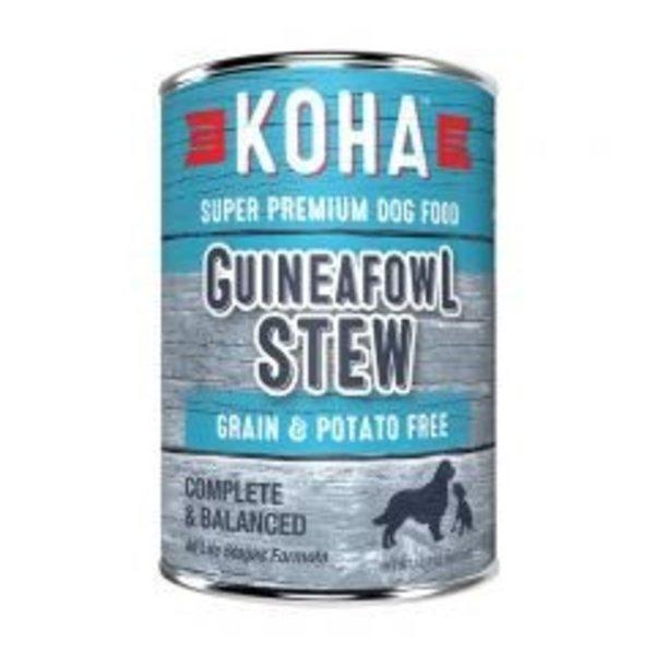 Koha KOHA Guineafowl Stew Dog Canned Food 12.7oz.