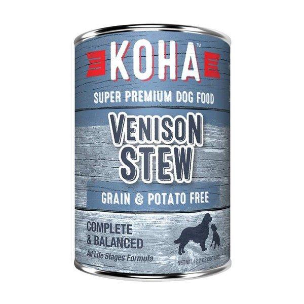 Koha KOHA Venison Stew Dog Canned 12.7oz.