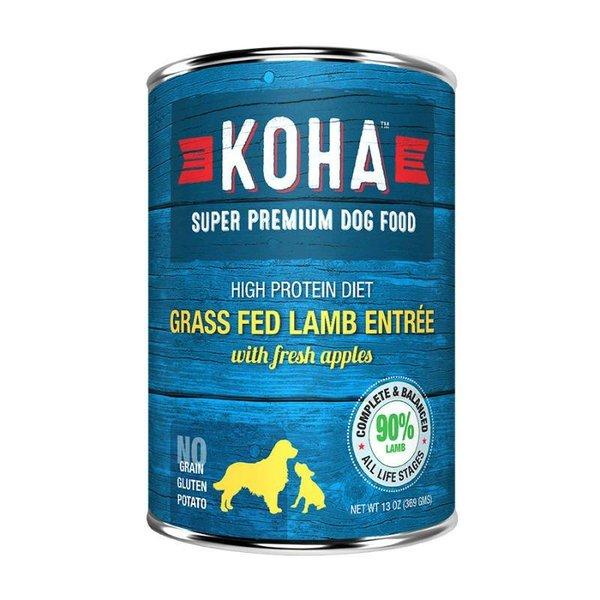 Koha KOHA Grass Fed Lamb Entree 90% 13oz.