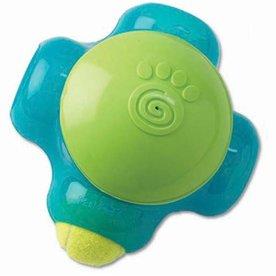 """Petrageous Chaser-X Ball Maze, 8.07"""" x 7.91"""" x 5.87"""", Aqua/Lime Green"""