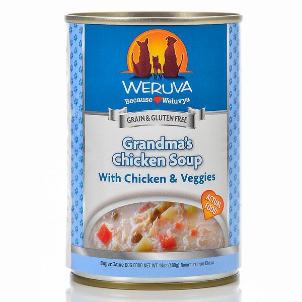 Weruva Grandma Chick Soup Dog 14oz (1 can)