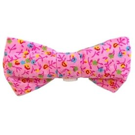 Barley's Bowties Pink Multi Large