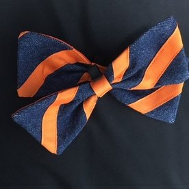 UVA Navy/Orange Bowtie