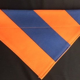 Uva Navy/Orange Cape Bandana