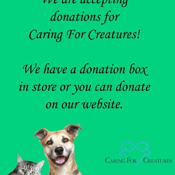 Caring for Creatures Donation