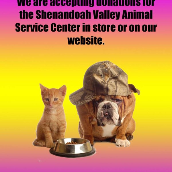 Shenandoah Valley Animal Service Center Donation
