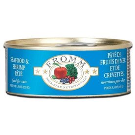 FROMM FAMILY FOODS LLC Fromm Cat Seafood Shrimp 5.5