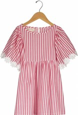 Vierra Rose london dress- red stripes
