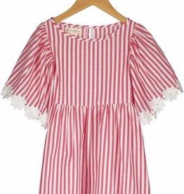 Vierra Rose london dress- rose stripes