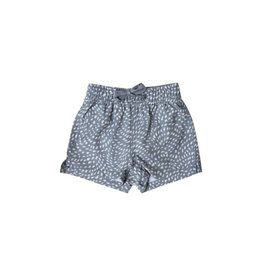 Rylee and Cru baby dash waves trunk- stormy blue