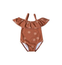 Rylee and Cru baby san dollar swimsuit- spice