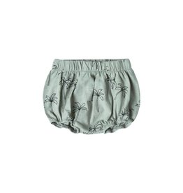 Rylee and Cru palm trees bloomers- seafoam