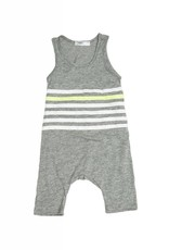 Joah Love finn stripe jumpsuit- grey
